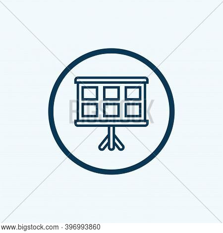 Studio Icon Isolated On White Background From Cinema Collection. Studio Icon Trendy And Modern Studi