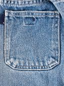 blue jeans pocket abstract background closeup. nobody poster