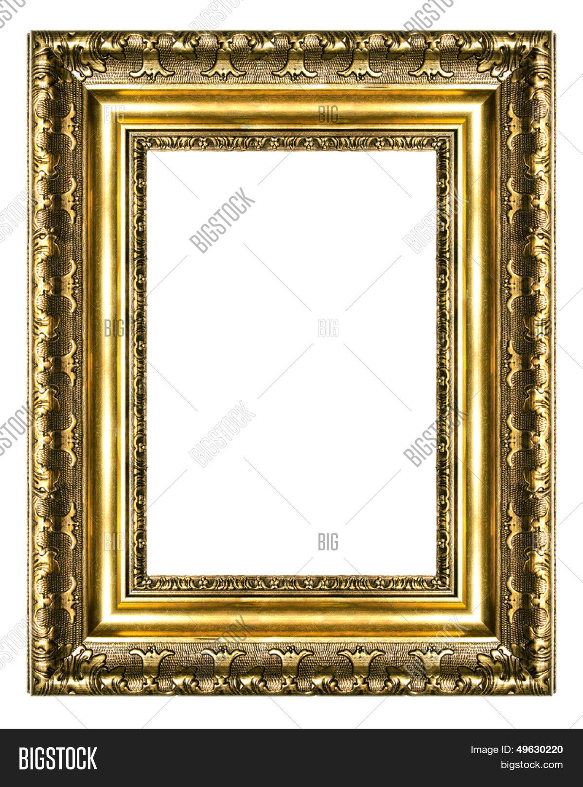 Old Gilded Frame (high Image & Photo (Free Trial)   Bigstock