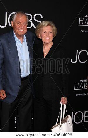 LOS ANGELES - AUG 13:  Garry Marshall, Barbara Marshall at the