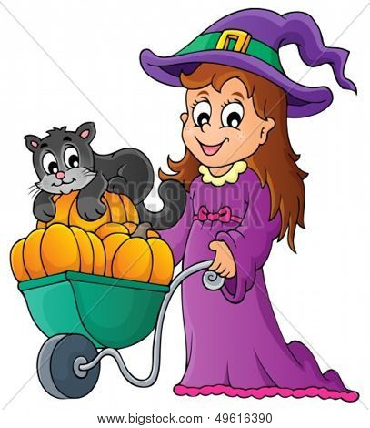 Halloween theme image 2 - eps10 vector illustration.