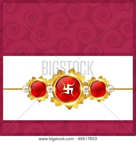 vector stylish rakshabandhan background design
