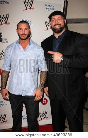 LOS ANGELES - AUG 15:  Randy Orton, Big Show at the Superstars for Hope honoring Make-A-Wish at the Beverly Hills Hotel on August 15, 2013 in Beverly Hills, CA