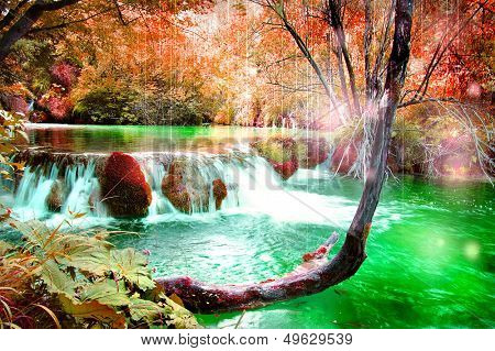 amazing fairy waterfall