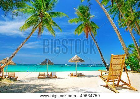 romantic tropical getaway