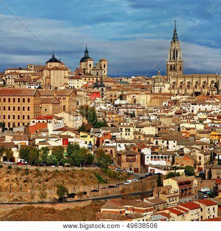 medieval cites of Spain - Toledo