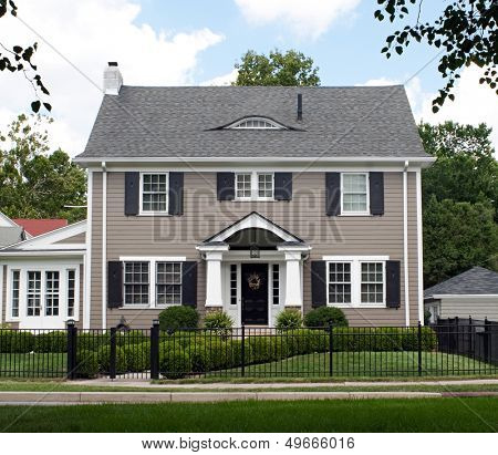 Stately Two Story House