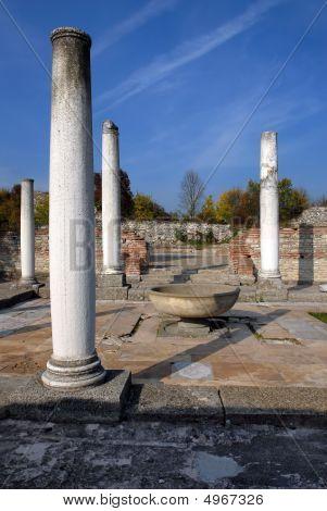 Felix Romuliana ancient Roman world heritage site near Gamzigrad Serbia poster