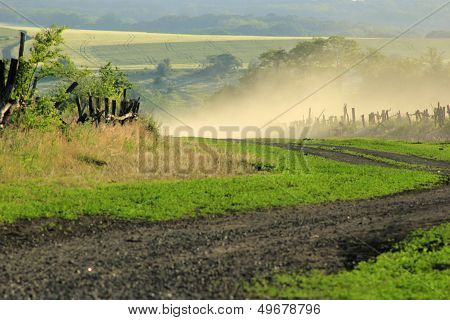 Country Road Curve
