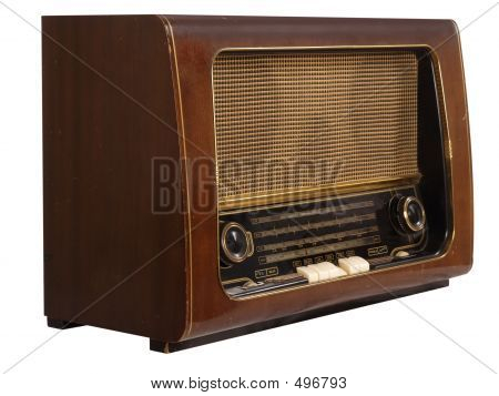 Old Radio (isolated)