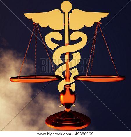Conceptual idea of justice in medicine