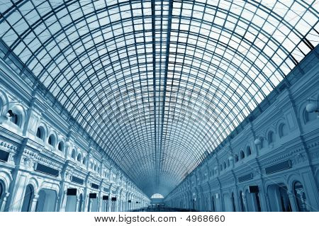 Glass Roof Of The Building