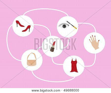 Woman Map