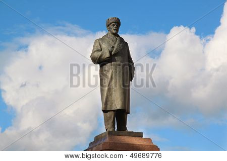 monument To Lenin In Rybinsk