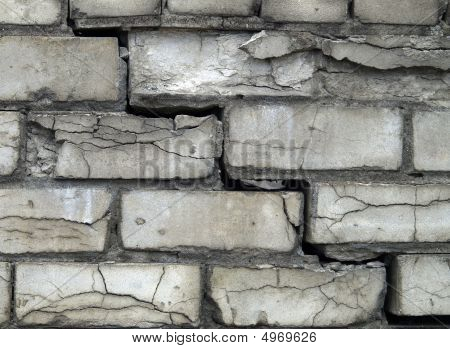 Grey Brick Wall Background