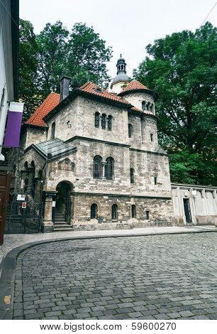 Old Jewish Cemetery In Prague, Czech Republic