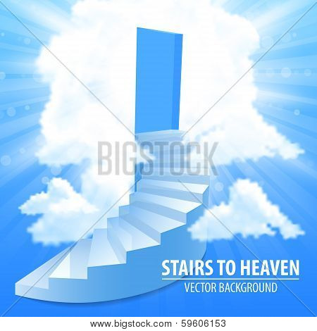 Steps, stairway to the sky