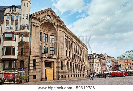 Riga's Largest Square
