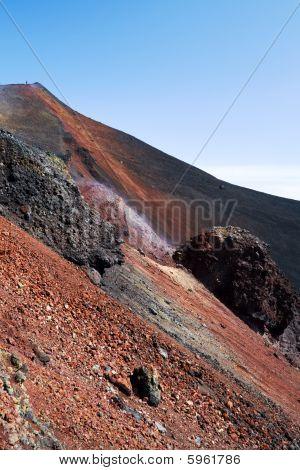 Slope Of Volcano