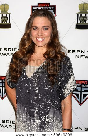 LOS ANGELES  - FEB 9:  Natalie Coughlin at the ESPN Sport Science Newton Awards at Sport Science Studio on February 9, 2014 in Burbank, CA