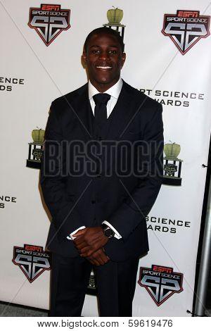 LOS ANGELES  - FEB 9:  KofiSarkodie at the ESPN Sport Science Newton Awards at Sport Science Studio on February 9, 2014 in Burbank, CA