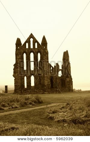 Whitby Abbey Aged