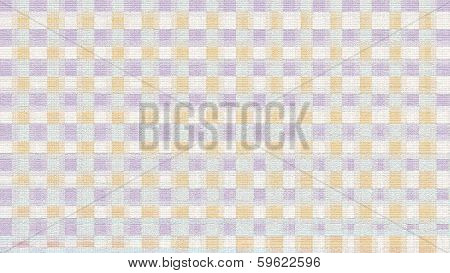 Soft-colored Block Pattern - Stock Image