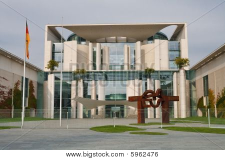 Bundeskanzleramt / Kanzleramt / Chancellery In Berlin, Germany