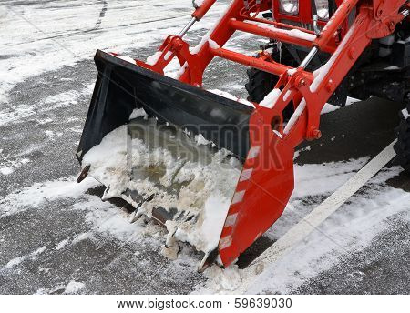 Ladle Of The Snowblower