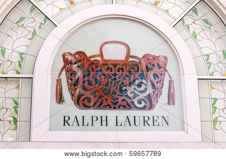 Ho Chi Minh City, Vietnam-october 31St 2013: Ralph Lauren Store In Ho Chi Minh City. Ralph Lauren Ha