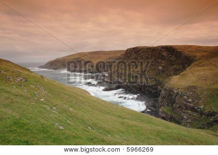 Scottish Coastal cliffs