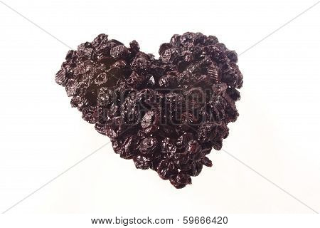 Dried Cherry Heart