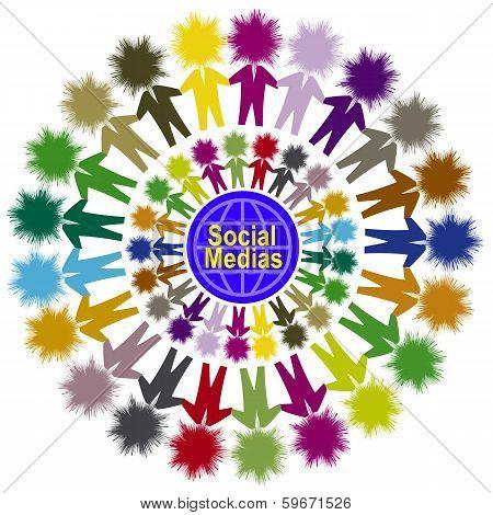 Social Medias One World