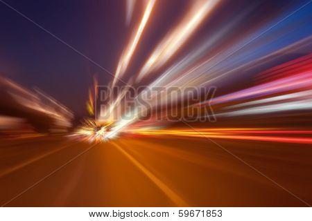 High-speed Movement At Night