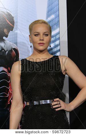 LOS ANGELES - FEB 10:  Abbie Cornish at the