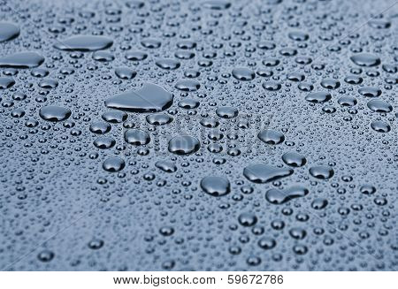 Drops On  Smooth Surface