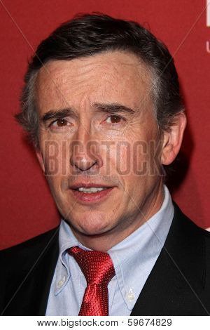 LOS ANGELES - FEB 10:  Steve Coogan at the The Hollywood Reporter's Annual Nominees Night Party at Spago on February 10, 2014 in Beverly Hills, CA