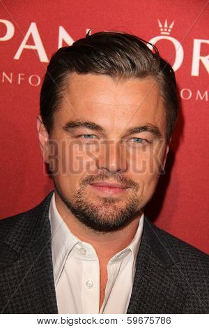 LOS ANGELES - FEB 10:  Leonardo DiCaprio at the The Hollywood Reporter's Annual Nominees Night Party at Spago on February 10, 2014 in Beverly Hills, CA