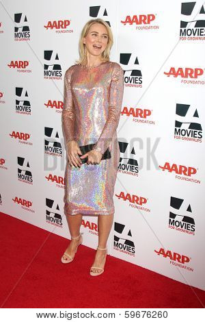 LOS ANGELES - FEB 10:  Naomi Watts at the AARP