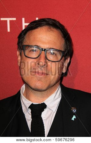 LOS ANGELES - FEB 10:  David O. Russell at the The Hollywood Reporter's Annual Nominees Night Party at Spago on February 10, 2014 in Beverly Hills, CA