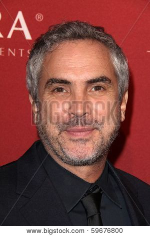 LOS ANGELES - FEB 10:  Alfonso Cuaron at the The Hollywood Reporter's Annual Nominees Night Party at Spago on February 10, 2014 in Beverly Hills, CA