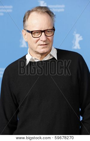 BERLIN - FEB 9: Stellan Skarsgard at the 'Nymphomaniac Volume I' photocall - 64th Berlinale International Film Festival at Grand Hyatt Hotel on February 9, 2014 in Berlin, Germany