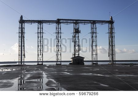 Ship Loading Grain Tower