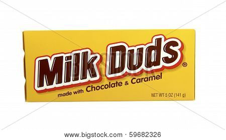 Box Of Milk Duds Candy