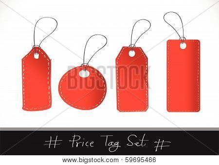 Vector price tag Sale Tags and Tags Labels