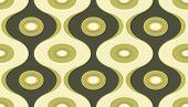 Vector illustration of elegant geometric retro motif wallpaper seamless Pattern poster