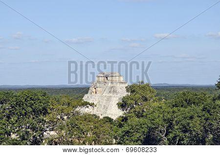 Uxmal, Yucatan, Mexico, 2007. Ancient buildings, built by the Mayas.