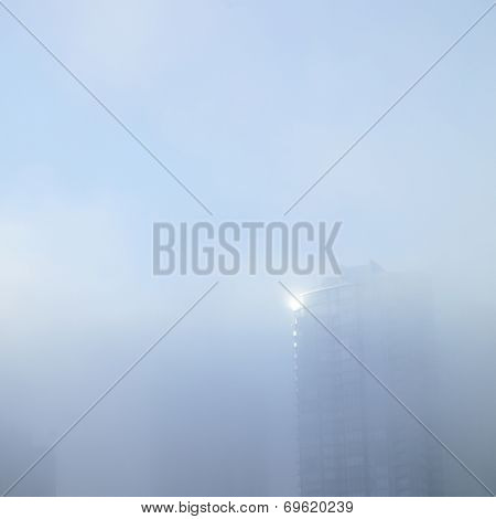 Tower In The Fog