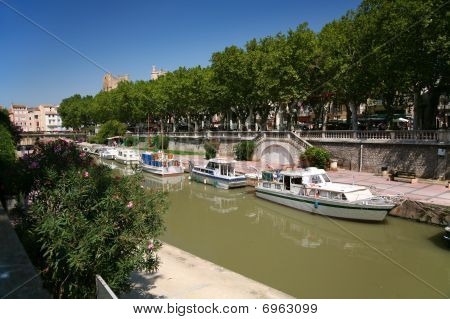 Canal In Narbonne