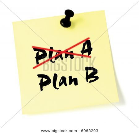 Crossing Out Plan A, Writing B